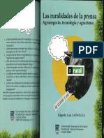 Las Ruralidades de La Prensa Agronegocios, Tecnologia y Agrarismo - Edgardo Luis Carniglia