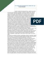 Reflexiones Para La Comprensión Sociológica de La Cultura New Age - G. Menéndez