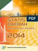 Statistik Daerah Provinsi DKI Jakarta 2014