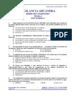 DM0603. Derecho Marítimo. Tema 6. Test Número 3