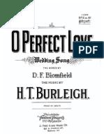 O Perfect Love song sing piano