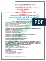 Smu Mba Sem 3 Hr Winter 2015 Assignments (2) (1)