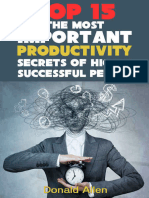 15 the Most Important Productivity Secrets Highly Successful People Dont Want You to Know