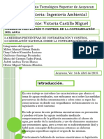 Unidad III Prevencion y Control de La Contaminacion Del Agua