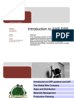 Intro to Erp Sap