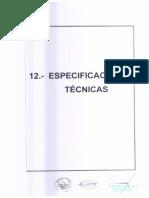 12.- Especificaciones Tecnicas PARTE 1