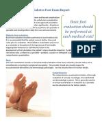 10-09-13 NEW Diabetes Foot Exam Report