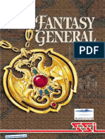 Fantasy General - Manual - PC