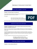 7 Pasos Para Preparar y Ensayar Un Discurso