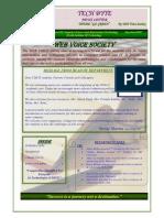 WIT Newsletter Tech Byte.......Volume-1 jan-june2010...........Designed By Anil Sanwan.........Member Of Web Voice Society