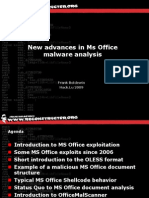 New Advances in Ms Office Malware Analysis