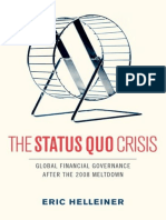 The Status Quo Crisis Global Financial Governance After the 2008 Meltdown