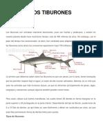 Tareas  Tiburones