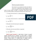 Metoda Sperantei Matematice