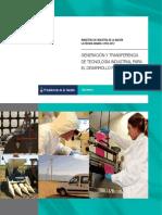 Generacion y Transferencia de Tecnologia Industrial Para El Desarrollo Productivo Inti