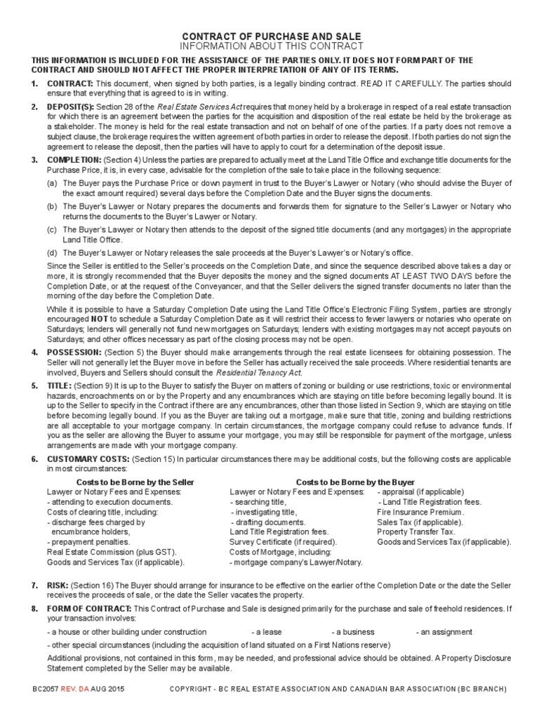 Sale of real property contract Essay Help patermpaperuvjn.ferjelicio.us