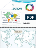 INB-372 Lecture #1 & 2 Introduction to Global Trade & Globalization