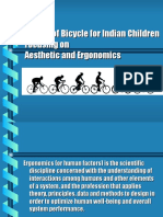 ergonomics and aestetics bicycle