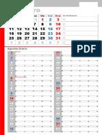 Calendario 2016 Limpio