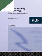 Critical Reading And Writing For Postgraduates Pdf
