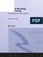Crtical Reading & Writing by Andrew Goatly