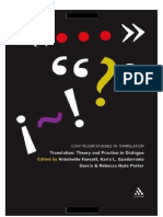 Fawcet Et. Al, Translation - Theory and Practice in Dialogue, 2010[Mxmll]ACADEMIC