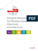 Comptia Network (n10 006) Examobjectives