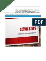 action steps for slmp