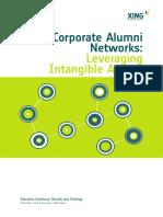 Survey Corporate Alumni Networks Summary English