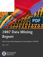 Privacy Rpt Datamining 2007