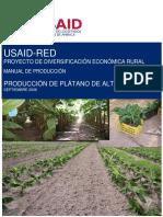 RED Manual Produccián Plátano
