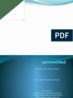diapositivas personalidad