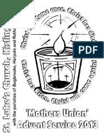 MU Advent Service 2013