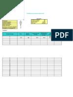 Plantilla de Excel Para Prestamo Hipotecario