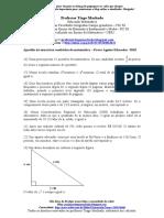 Prova Agente Educador Matemática 2010
