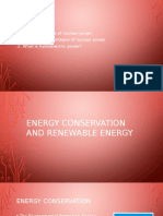 energy conservation and renewable energy