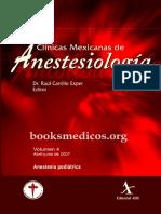 Anestesia Pediátrica CMA