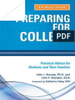 Preparing for College Practical Advice for Students and Their Families