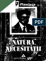 Alvin Plantinga - Natura Necesitatii