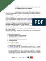 Criterios de Contracao Oferta Escola Grupos de Recrutamento 15-16