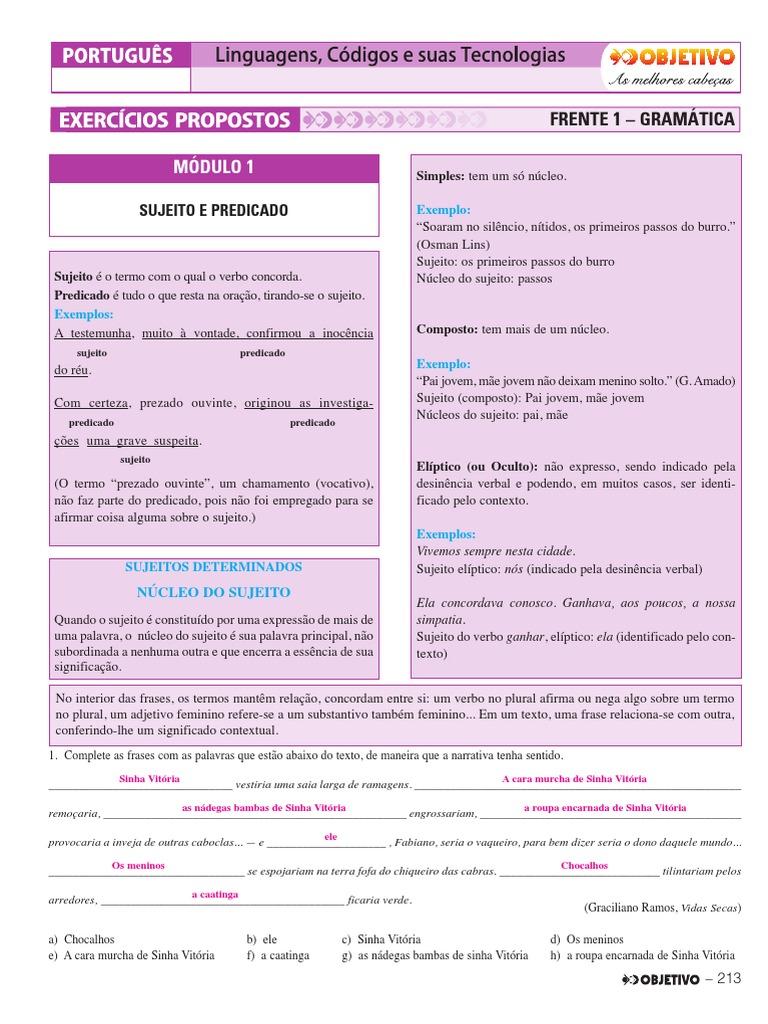 1.3. Português - Exercícios Propostos - Volume 1 8beec48ad6