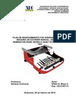 Plan de Matenimiento Máquina de Escribir Remington Rand Quiet Riter WILDER MOYA