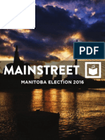 Mainstreet Research - Manitoba Election 2016 Guide
