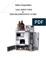 Waters Corporation Trouble Shooting Guide