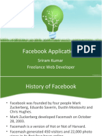 Facebook Apps - Sriram Kumar - Bangalore PHP Meet April 2010