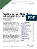 Washing Machine 3 Phase Motor