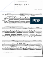 Sancan Flute Sonatina Piano