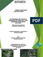 Acondicionamiento de una vivienda en medellin (colombia)