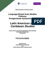 LBAS PG Symposium Programme May2013