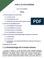 Philosophica_ Enciclopedia Filosófica on Line — Voz_ La Muerte y La Inmortalidad